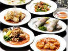 中華レストラン「松林」の中華コース。ご昼食にもご利用頂け、地元の方にも好評です