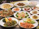 下部ホテル伝統の中華レストラン「松林」でお愉しみいただける本格中華コース料理(イメージ)