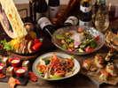 秋のワインディナーブッフェ(イメージ)