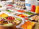 2011年3月リニューアル!北海道の新鮮な食材をふんだんに使用した120品を超えるビュッフェメニュー