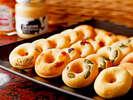 【朝食】ヘルシー焼きドーナッツ 女性に人気♪
