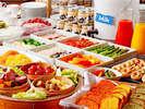 120品目を超える朝食Doナチュラルモーニングビュッフェ
