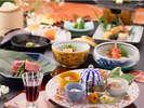■イメージ■旬の野菜と新鮮な魚介…「季節にこだわり」「技にこだわり」ご用意致します-基本会席-