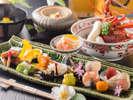 【美味求真会席 イメージ】飛騨の「美味」と「滋味」をとことん追求した当館を代表する会席