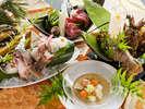 ■五大美味会席■理長の<技>と新鮮・高級食材<五大美味>が交わる!驚きと感動の会席が誕生