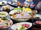 鍋ダイニング・いいそ「桜鯛のしゃぶしゃぶ鍋コース」(イメージ)