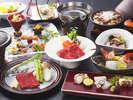 麦藁蛸と和牛の季替り膳(イメージ)