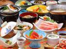 花巻産 白金豚のをメイン料理にした「和膳スタイル」イメージ。(写真は竹膳となります)