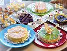 ラウンジ「プラシャンテ」にてケーキ&ドリンクバイキング