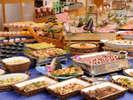 【瀬戸内水軍バイキング】約50種類のお料理が並びます