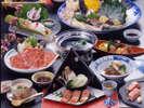 鳥取和牛と旬の味覚三昧会席。鳥取黒毛和牛のまろやかな旨味をお楽しみください。(写真はイメージです。)