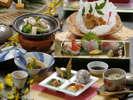見た目も爽やかな【菊乃膳会席】が食欲をそそります!(写真はイメージです。)