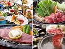 4種類の中から選べるお料理です(*^^)会席は月替わりとなります