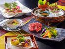 ■-信州牛尽くし-■多彩な調理法で魅せる5つの味わい…これぞ料理長渾身の【創作信州牛懐石】