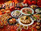 見て面白い、食べて美味しい!秋の味覚とハロウィーンフェアディナーバイキング(9/8~11/5まで)