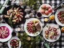 11/5〜12/25までディナーブッフェ「ローストビーフとクリスマスフェア」を行っています。