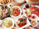 夜景とともに本格中華を。18F中国料理「彩湖」