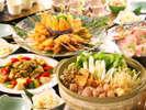 【卓盛り料理イメージ】呑んで食べて土佐を満喫!※写真は8名様盛りです。