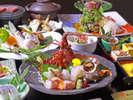 和歌山名産の食材を季節に応じて最高の状態で堪能できるおすすめの会席です