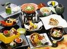 秋の会席料理(イメージ)