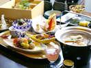 【お食事処 花鳥】秋の味覚を堪能:和食会席※イメージ
