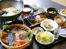 【朝食】目の前で炙って食べる焼き魚が絶品!※イメージ