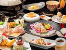 天然クエ会席【極み】クエを色々な調理でお召し上がりください。
