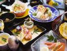 """■会席料理■~三河の四季を、舌で楽しむ""""五感""""で味わう旬菜会席~"""