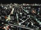 ○パレス側の客室は、大都市の夜景が楽しめる。(写真は皇居・丸の内方面の夜景イメージ)