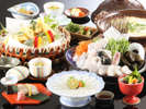 ◆とらふぐ会席◆とらふぐ、旬菜など、春を彩る豪華料理をどうぞ[一例]