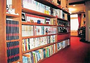 6000冊以上の本が嬉しいファミリー文庫