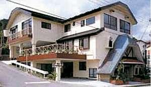 源泉掛け流しのちいさなホテル 塩原山荘の外観