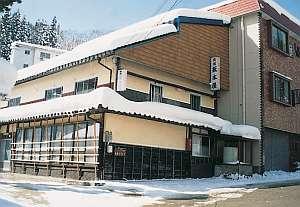民宿坂本屋の外観