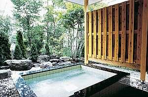 贅沢サイズの庭園露天風呂