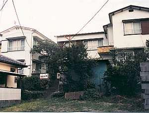 民宿「治左エ門」の外観