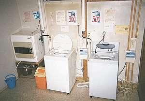 コインランドリー(洗濯機・乾燥機)完備