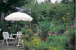四季折々の花の咲く庭