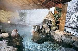 渓流を真下に望む「絶景露天風呂」で名湯を!