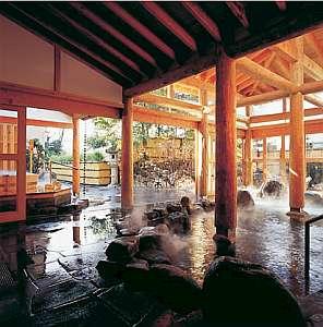 ◆露くらべ◆岡山一の露天風呂はだかのまま湯めぐりできる