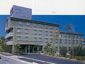 ホテルルートインコート南アルプスの外観