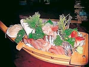 舟盛(鰹か秋刀魚)ときんきの塩焼きプラン(部屋だし