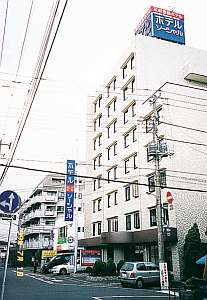 五井ホテルソーシャルの外観