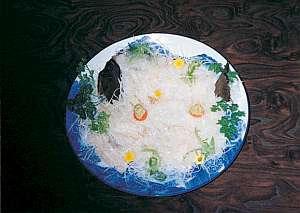 新鮮海の幸。活きの良い地魚を。(料理一例)