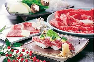 ☆★【山形牛至福】鍋と寿司とステーキで『A-5山形牛』を堪能