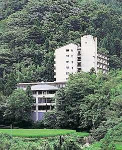 大自然に抱かれた山峡の宿