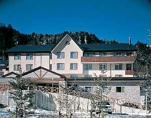 層雲峡温泉内でもかわいいプチホテル