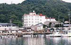 竜宮料理の宿 八島の外観