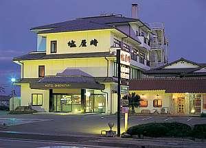 ホテル塩屋崎の外観
