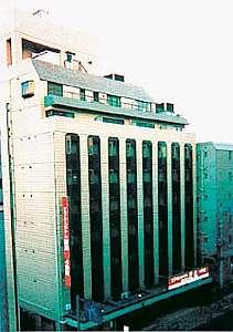 ビジネスホテル 新力 4号館の外観