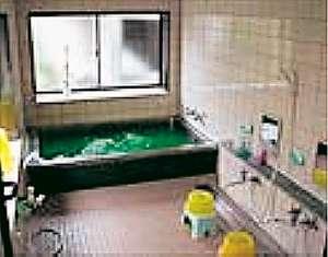 麦飯石お風呂(利用時間12PM~7AM)